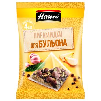 Hame Bouillon Spice Mixture in Pyramid Bags 20g - buy, prices for EKO Market - photo 1