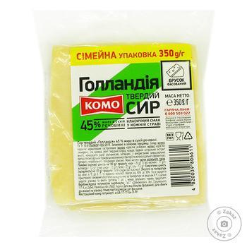 Сыр Комо Голландия 45% 350г - купить, цены на Фуршет - фото 1