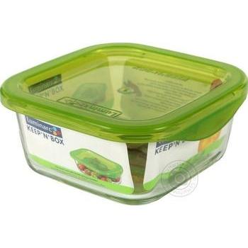 Контейнер Luminarc Keep'n'box с крышкой 360мл - купить, цены на Ашан - фото 1