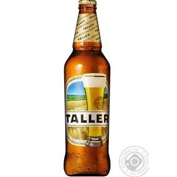 Пиво Taller світле 5,3% 0,5л - купити, ціни на CітіМаркет - фото 1