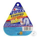 Средство для чистки сливных труб Rorax гранулы 60мл
