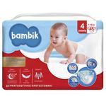 Підгузки Bambik Jumbo Maxi 4 7-18кг 45шт
