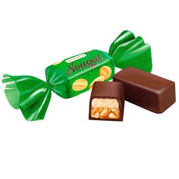 Конфеты Roshen Нуга с арахисом и мягкой карамелью весовые - купить, цены на Varus - фото 1