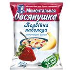 Каша овсяная Овсянушка с клубникой и бананом 47г