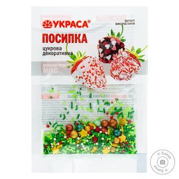 Посипка Украса цукрова декоративна - купити, ціни на Ашан - фото 1