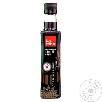 Соус Катана Преміум соєвий 200мл - купити, ціни на Ашан - фото 1