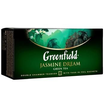 Чай Гринфилд Жасмин Дрим зеленый с жасмином 2г х 25шт