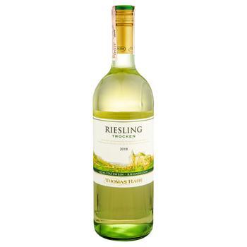 Вино Thomas Rath Рислінг біле сухе 11% 1л - купити, ціни на Метро - фото 1