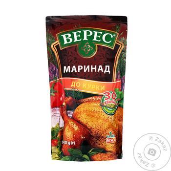 Маринад Верес для курицы 140г - купить, цены на Ашан - фото 1