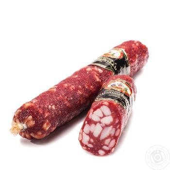 Sausage braunschweiger Harmash raw smoked