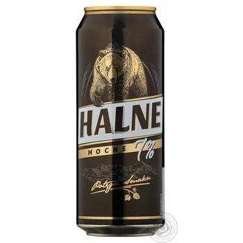 Пиво Halne Mocne светлое 7% 0,5л - купить, цены на Novus - фото 1