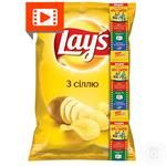 Lay's potato chips with salt 133g