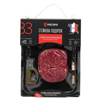 Myastoriya Filet Mignon Chilled Beef Steak ~250g