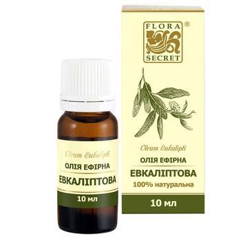Ефірна олія Flora Secret Евкаліптова 10мл - купити, ціни на Varus - фото 1