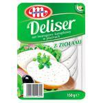 Сир Mlekovita Deliser вершковий з зеленню 150г