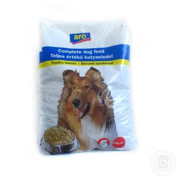Корм Aro сухой с мясом птицы для собак 10000г
