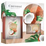 Набір косметичний Coconut (гель д/душу+крем-баттер д/тіла) Ліора