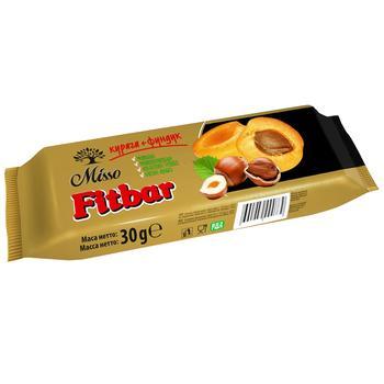 Батончик Misso Fitbar курага+фундук 30г