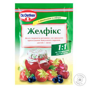 Dr.Oetker for desserts with pectin of apples and citrus jelly 20g