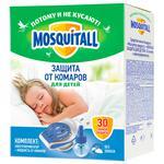 Комплект MOSQUITALL Нежная защита от комаров електрофумігатор + жидкость 30 ночей 30мл