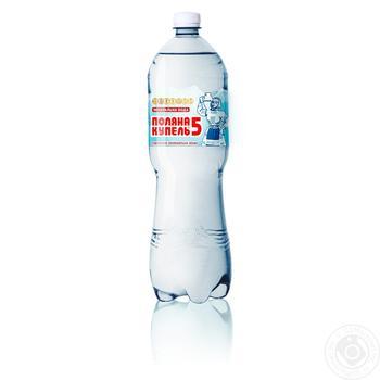 Вода Поляна Купель газована лікувально-столова 1,5л - купити, ціни на Фуршет - фото 1