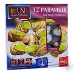 Snail Ukrainian snail holding in sauce 210g