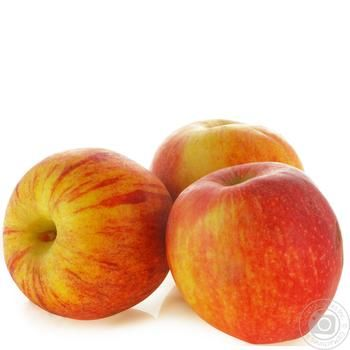 Яблоки Гала свежие весовые - купить, цены на Ашан - фото 1