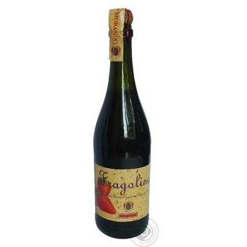 Вино игристое Morando Fragolino красное 7.5% 0.75л