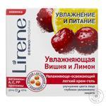 Крем для обличчя Lirene зволоження та живлення вишня та лимон 50мл - купити, ціни на Novus - фото 1