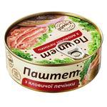 Паштет L'Appetit с говяжьей печени 240г