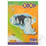 Картон ZiBi Kids Line білий А4 10 аркушів 235г/м2