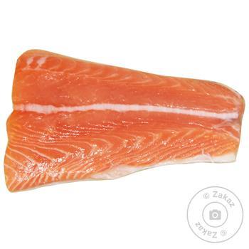 Сьомга (лосось) філе хвіст - купити, ціни на МегаМаркет - фото 1