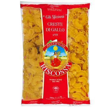 Riscossa №49 Creste Di Gallo Pasta 500g - buy, prices for MegaMarket - image 1