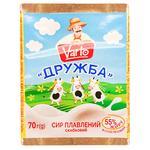 Varto Druzhba Processed Cheese 55% 70g