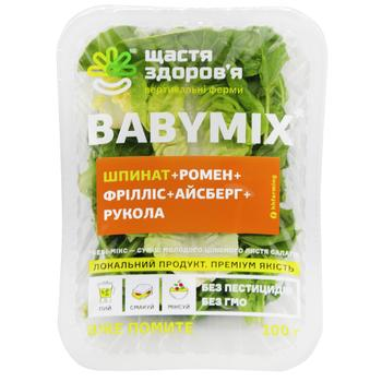 Salad Baby mix + Spinach 100g - buy, prices for Cosmos - photo 1