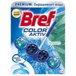 Bref Color Activ Eucalyptus Block for Toilet 50g