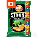 Lay's Strong potato chips with wasabi flavor 120g