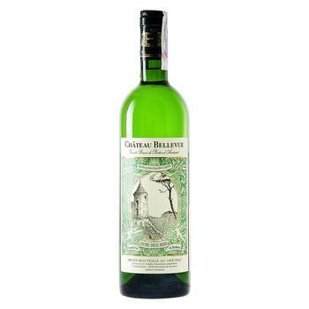 Вино Chateau Bellevue Entre-deux-Mers белое сухое 12% 0,75л - купить, цены на СитиМаркет - фото 1