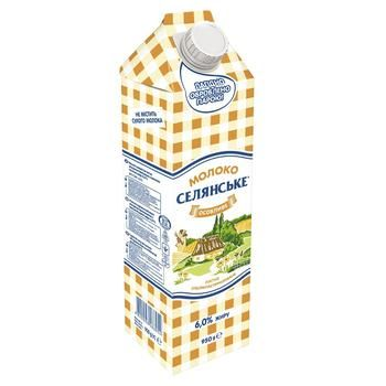 Selianske Osoblyve Ultrapasteurized Milk 6% 950g