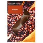 Feroma Espresso Coffee Cherry Flavored Tea Candle 6pcs