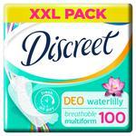 Щоденні прокладки Discreet Deo Water Lily 100шт