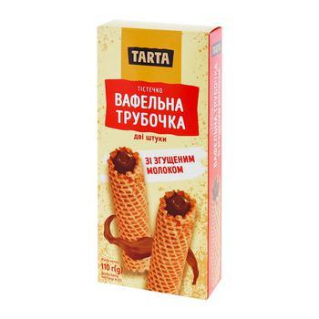 Tarta Wafer Rolls with Condensed Milk 110g 2pcs - buy, prices for CityMarket - photo 1