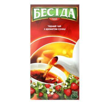 Чай Бесіда чорний 26пак - купити, ціни на Ашан - фото 4