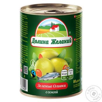 olive Dolina jelaniy salmon canned 260g - buy, prices for MegaMarket - image 1