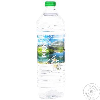 Вода минеральная Pirin негазированная 1.5л