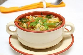 Франкфуртський овочевий суп
