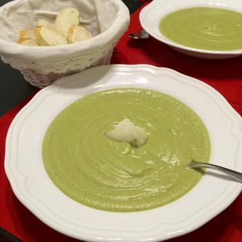 Крем-суп із брюссельської капусти