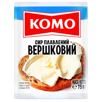 Komo Processed Cheese Cream 55% 75g - buy, prices for Furshet - image 1