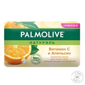 Мыло для лица и тела Palmolive Натурэль Витамин С и Апельсин туалетное 150г - купить, цены на ЕКО Маркет - фото 2