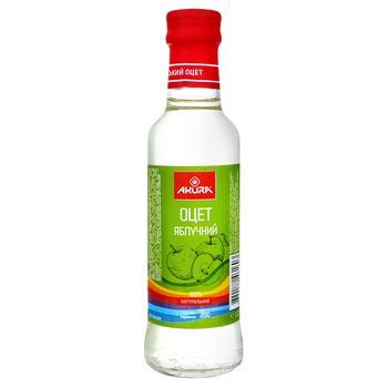 Уксус Akura яблочный натуральный 6% 200мл